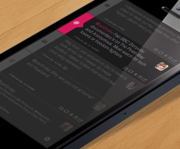 Twitter Concept UI / UX App Design for iOS & Android, Created by Mike Hince, UI/UX Designer Solihull, Birmingham, West Midlands
