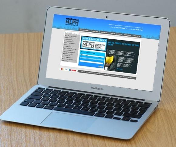 NLPH UI / UX Website Design, Created by Mike Hince, UI/UX Designer Solihull, Birmingham, West Midlands