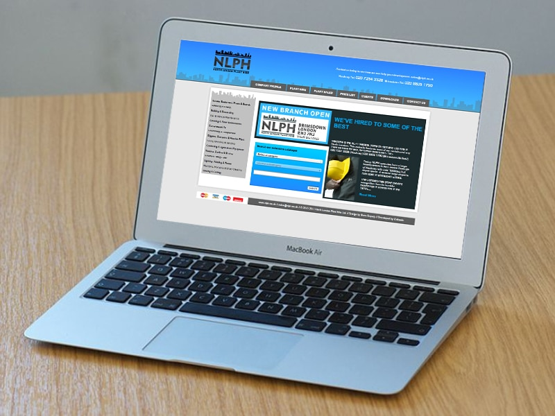 NLPH UI / UX Website Design, Created by Mike Hince, UI/UX Designer Solihull, Birmingham, West Midlands