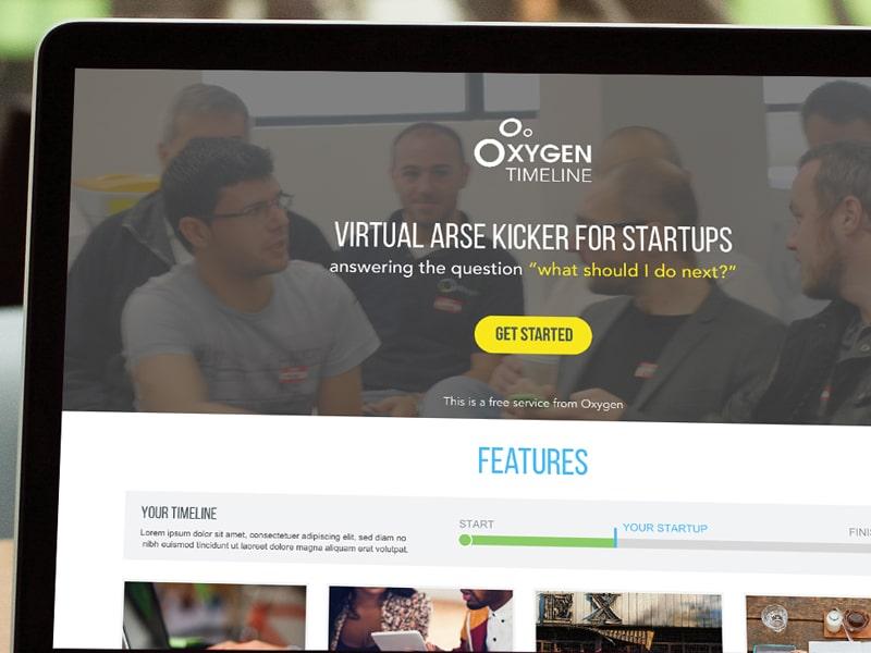 Oxygen Timeline UX Design