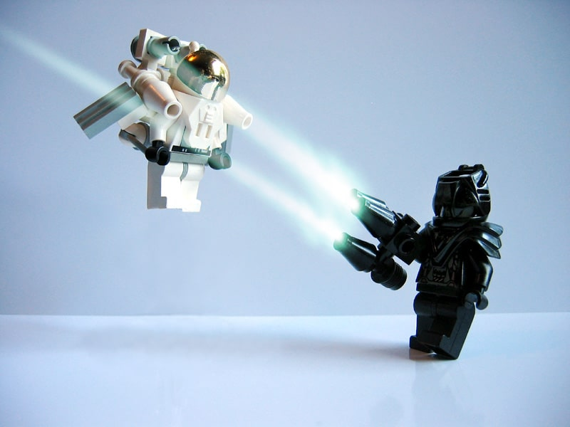 Reasons why startups make the best clients - Lego Jet Pack