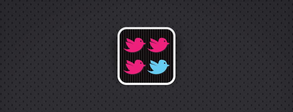 TweetCompare UI / UX App Design for iOS, Created by Mike Hince, UI/UX Designer Solihull, Birmingham, West Midlands