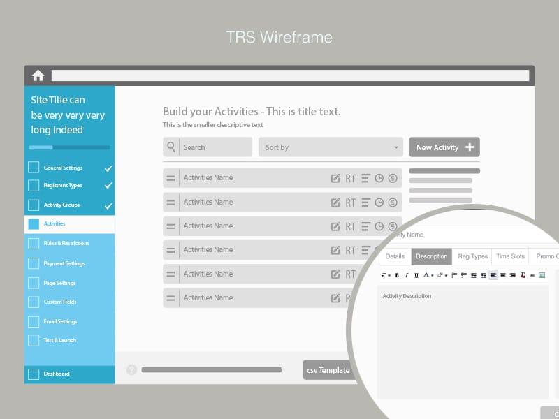 detailed wireframe design