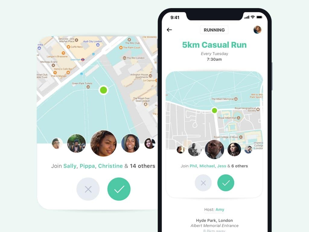 Fitness Group UI Design