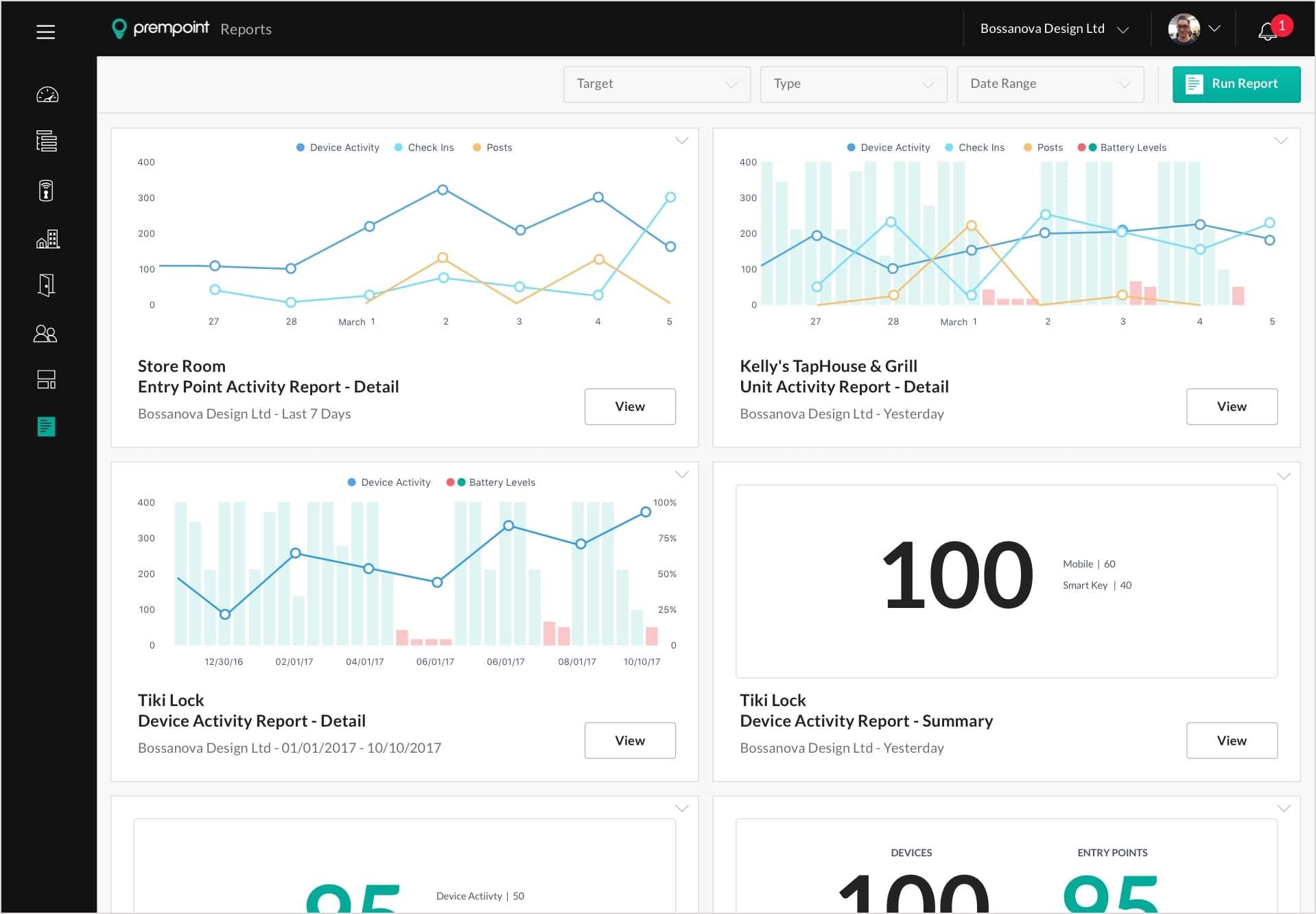 prempoint app design reports