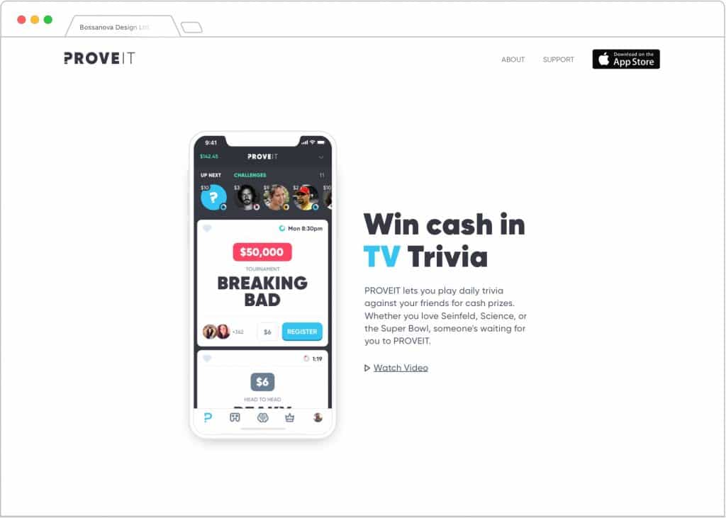 App Ui design quiz