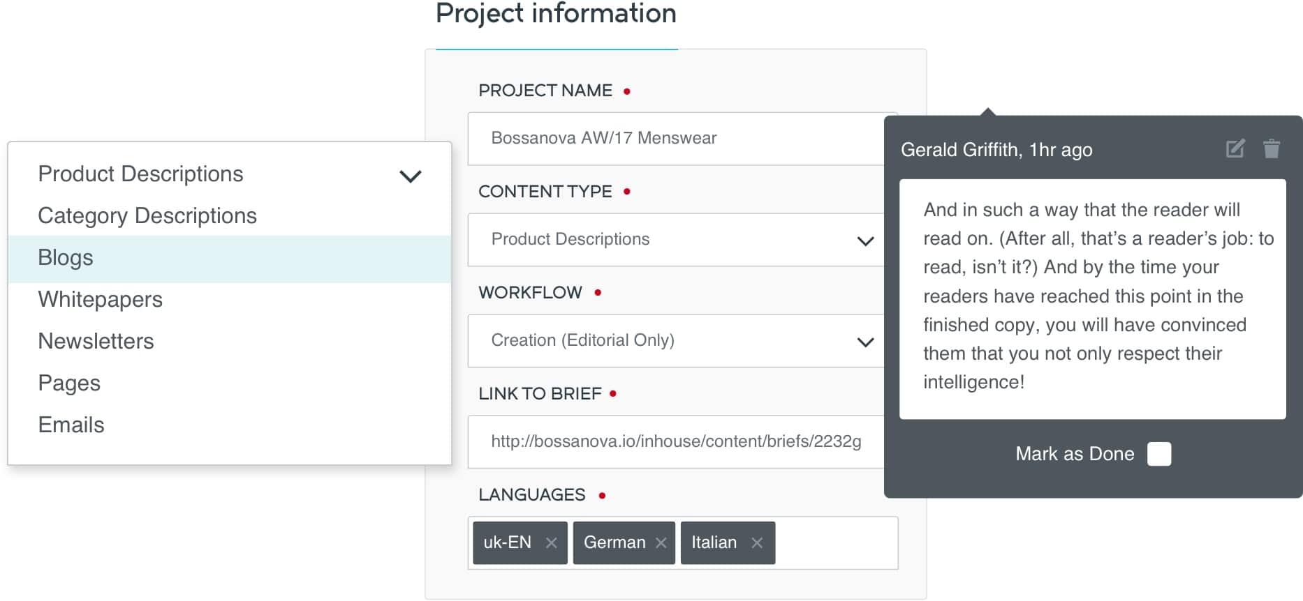 Content UX Design